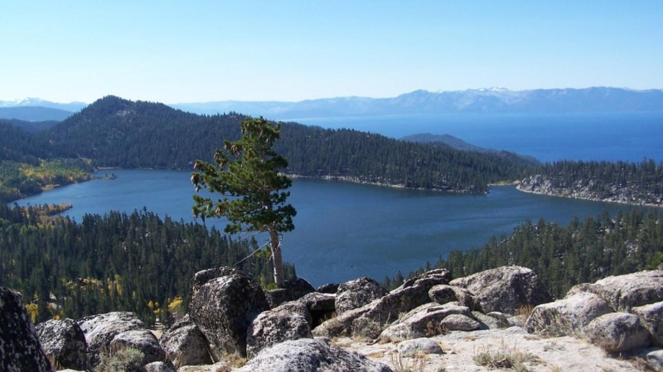 View from Christopher's Loop on Tahoe Rim Trail