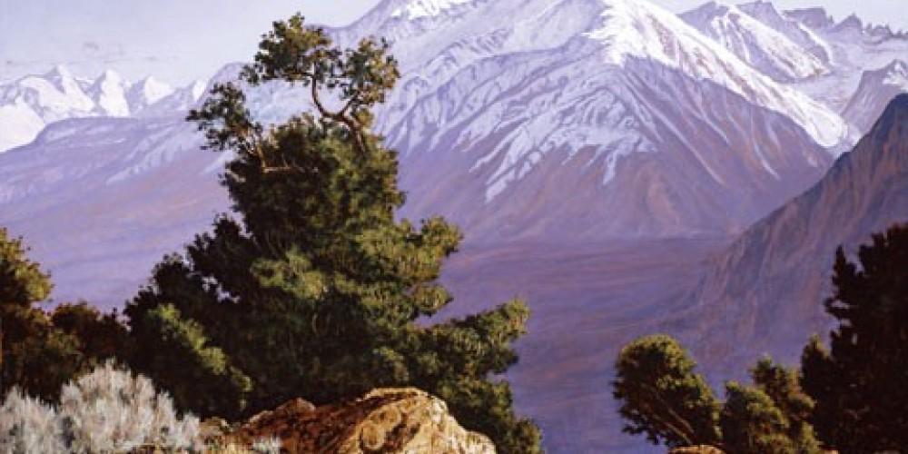 Richard Coons, Mount Tom, 30x36, oil/Belgian linen – Coons Gallery