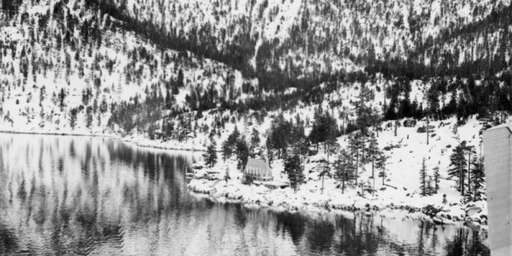 Historic Aerial View of Thunderbird Lodge circa 1937