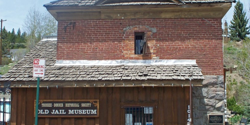 Truckee Old Jail Museum and Community Memorial Garden located behind the jail. – © 2009 Truckee Donner Historical Society All Rights Reserved