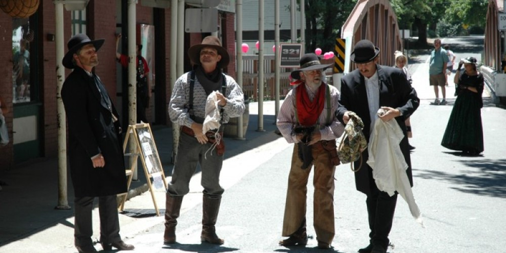 Downieville's Gold Rush Days gets people out of their houses wearing their finest – Mary Davey