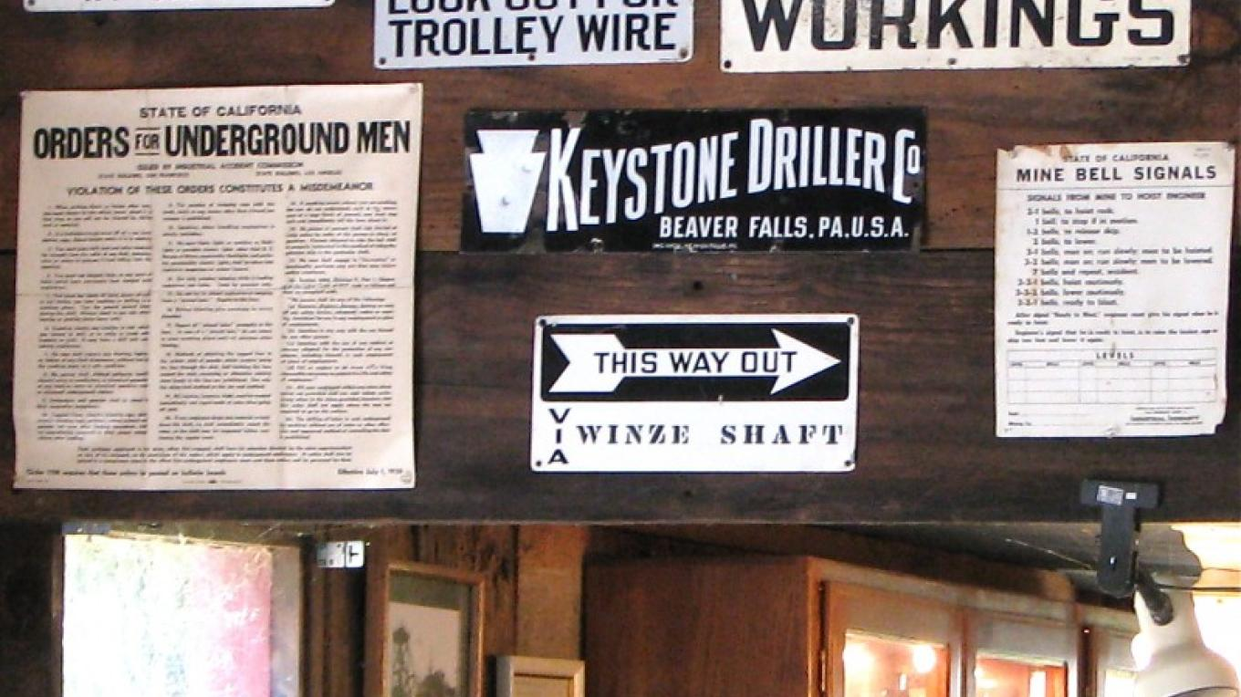 Mining was a dangerous business. Shaft collapses, fires and other accidents widowed many a wife. – Karrie Lindsay