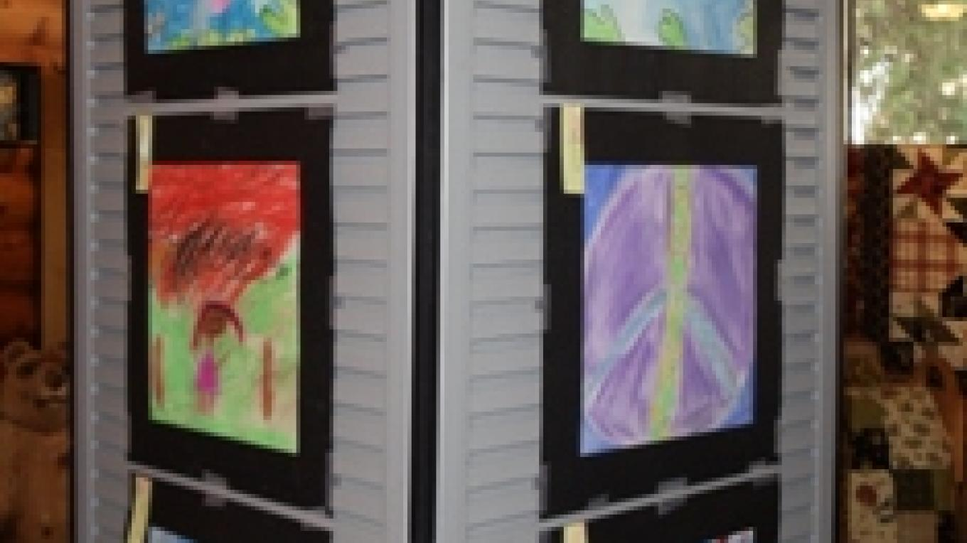 Local elementary school art show. – Darlene Meissner