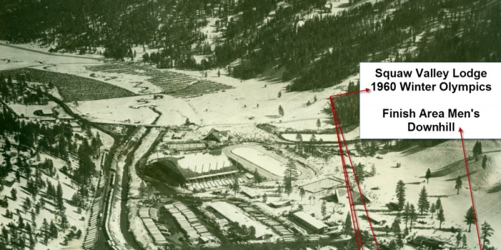 Base of the 1960 Winter Olympics – Courtesy Squaw Valley Ski Corp.
