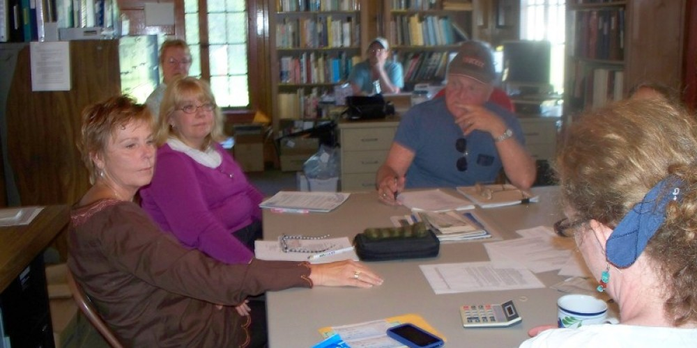 The library is used for the monthly TDHS board meetings. – © 2010 Truckee Donner Historical Society All Rights Reserved