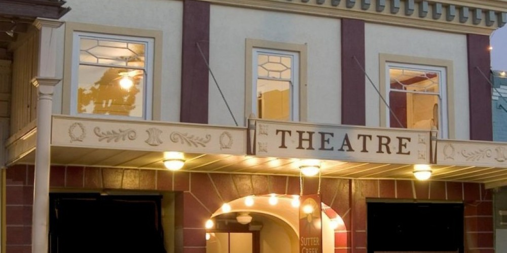 Sutter Creek Theatre street view