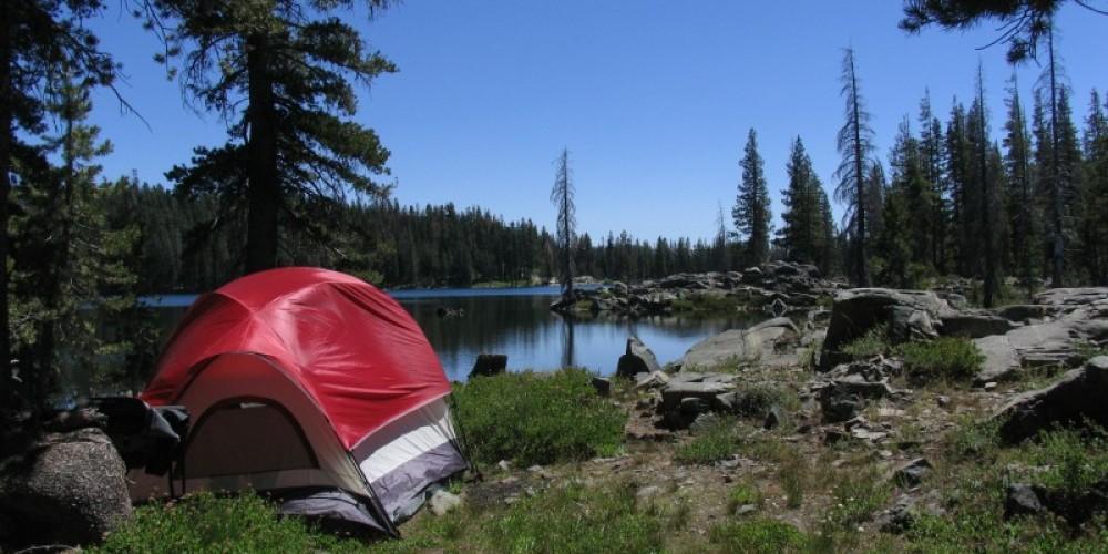 Camping at Meadow Lake, Nevada County – John Skinner