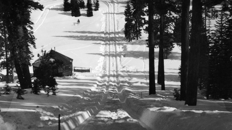 1932. Olympic Hill above Granlibakken Ski Area. – Granlibakken Conference Center and Lodge