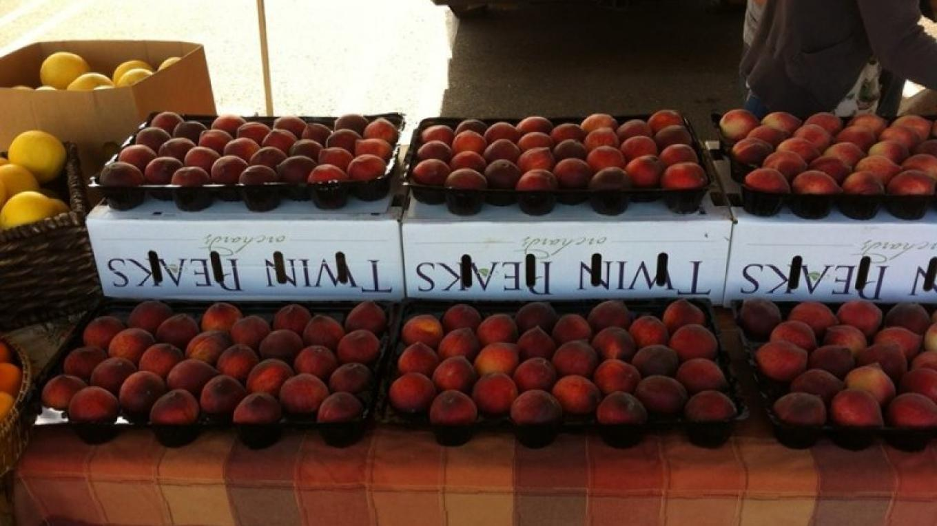 Vendors at the Rocklin market include Salle Orchards, and Twin Peaks Orchards. – Foothill Farmers Market