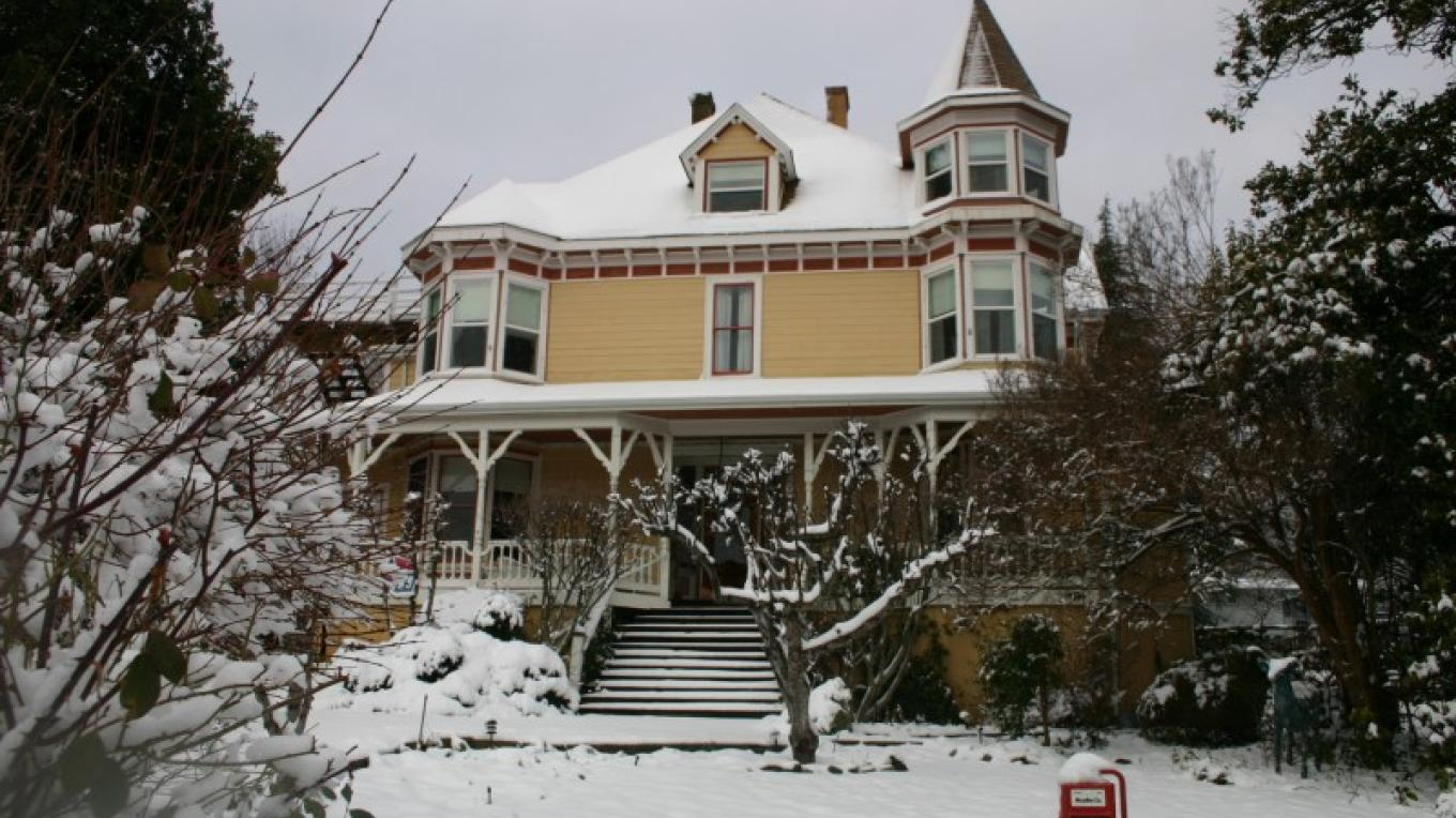 Snow at Swan Levine House – H.Levine