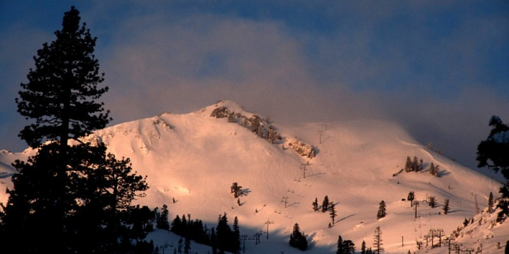 Sunrise over the famed Headwall. – Nathan Kendall