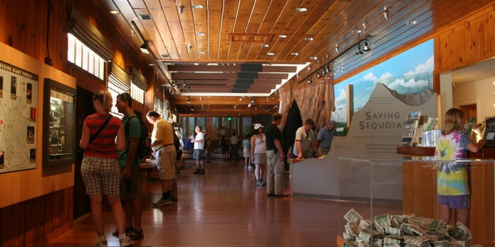 Interactive exhibits are available to engage your imagination at the Giant Forest Museum. – National Park Service photo - Rick Cain