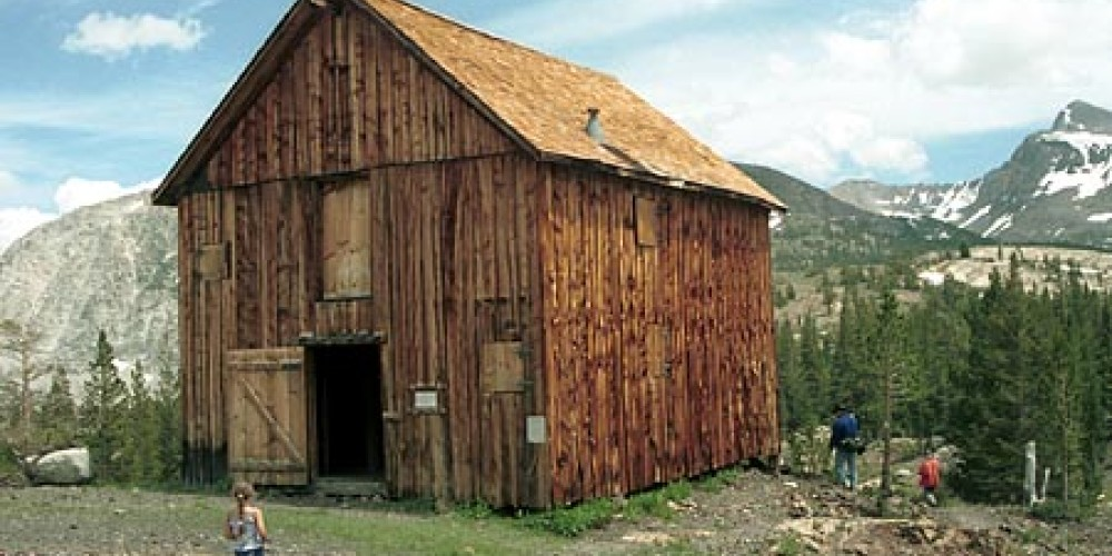 Located at around 10,000 feet, silver was first discovered here in the 1860s. In 1878 the Tioga Mining district was organized and the Great Sierra Consolidated Silver Company was formed. – www.ghosttownexplorers.org