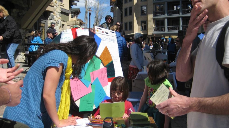 SBC table at Earth Day at Squaw, 2010 – SBC
