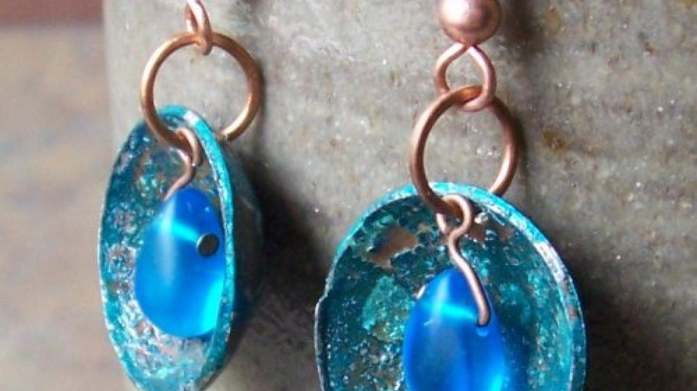 Earrings by Ted Henderson of Gaelic Forge – Ted Henderson