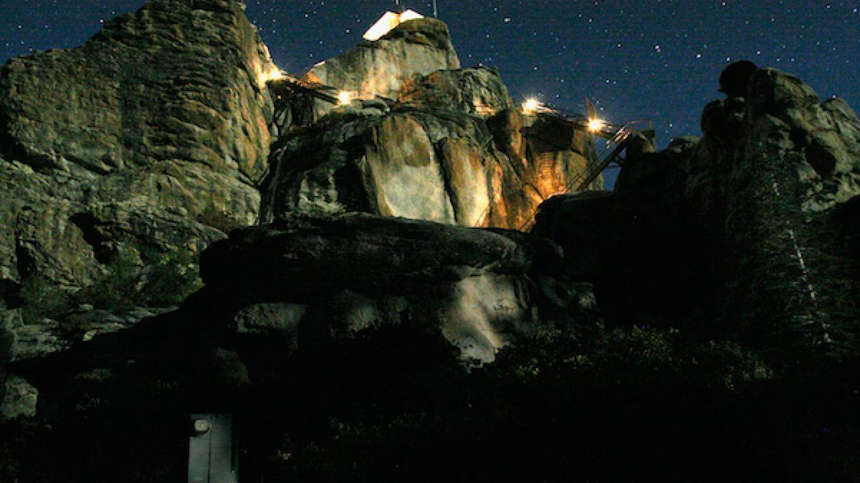 Buck Rock in moonlight – Matteo Geer