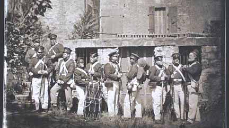Columbia Militia to fight against area bandits. – Militia-Columbia Gazette