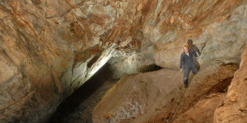 Part of the Gold Cliff Mine Adventure Trip. – Dave Bunnell