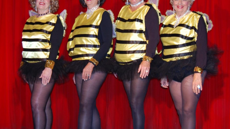 "Grub Gulch Grannies \""Bee my Little Bumble Bee\"" dance – Carol Kovach"