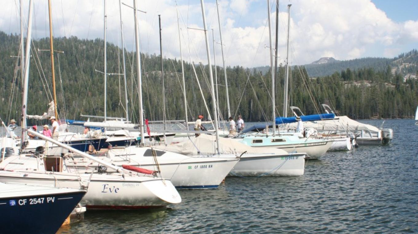 Marina with boats at Huntington Lake – Gabrielle Kant