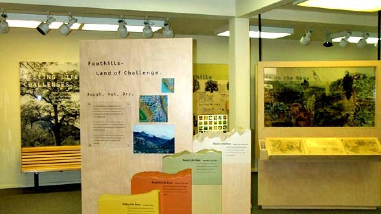 Inside the Foothills Visitor Center – National Park Service