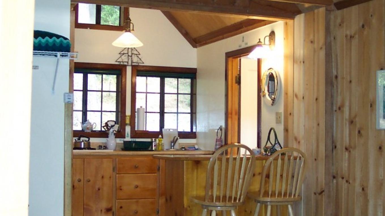 Sugar Pine Cabin Interior – Lauren Nickell