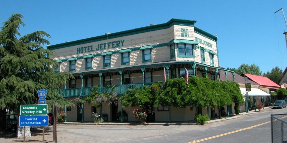 Hotel Jeffery - Historic Coulterville – Tina Craig