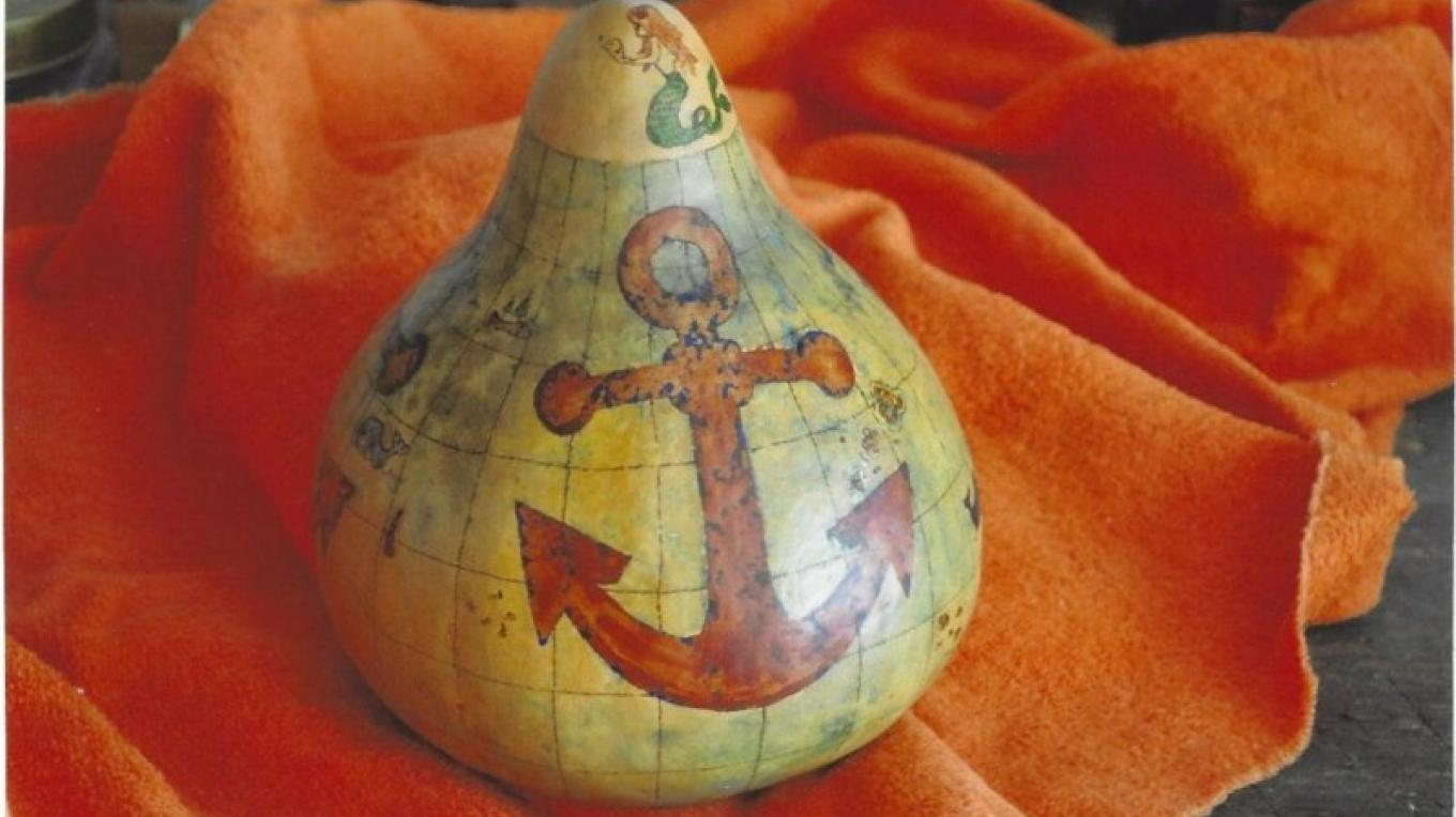 Gourd art by Carol Canby – Carol Canby