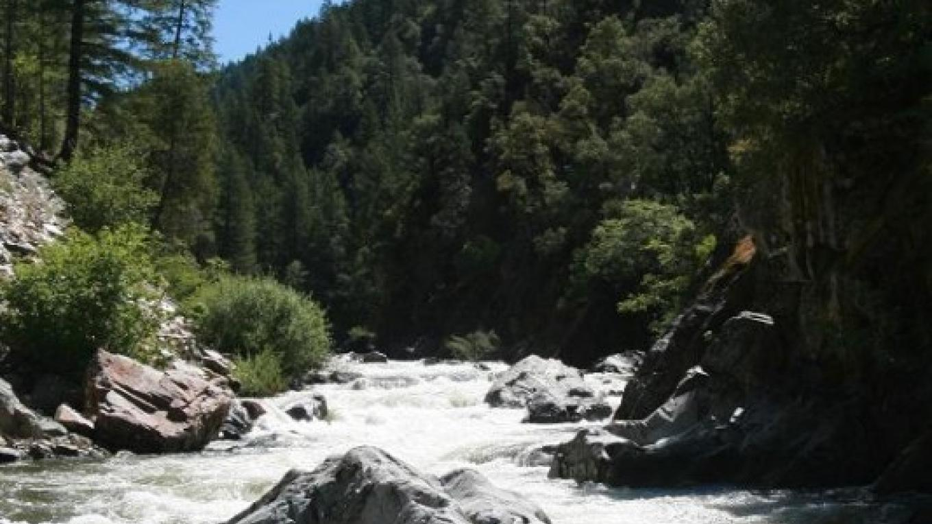North Yuba River Canyon in the Tahoe National Forest near Downieville