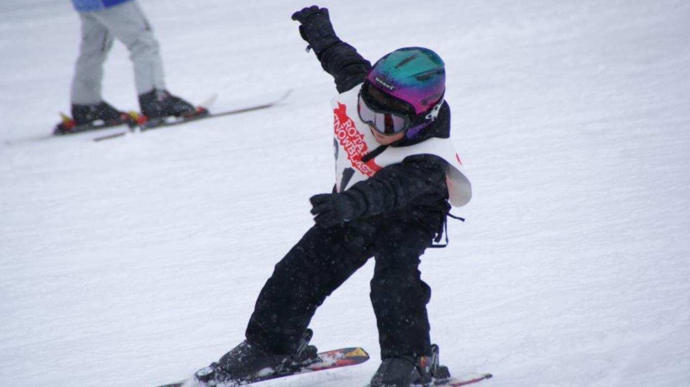 Junior ski competition – Lorissa Soriano