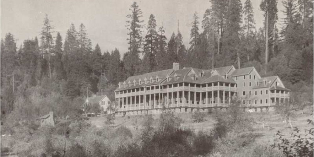 Actual photo of Hotel Bret Harte at Deer View