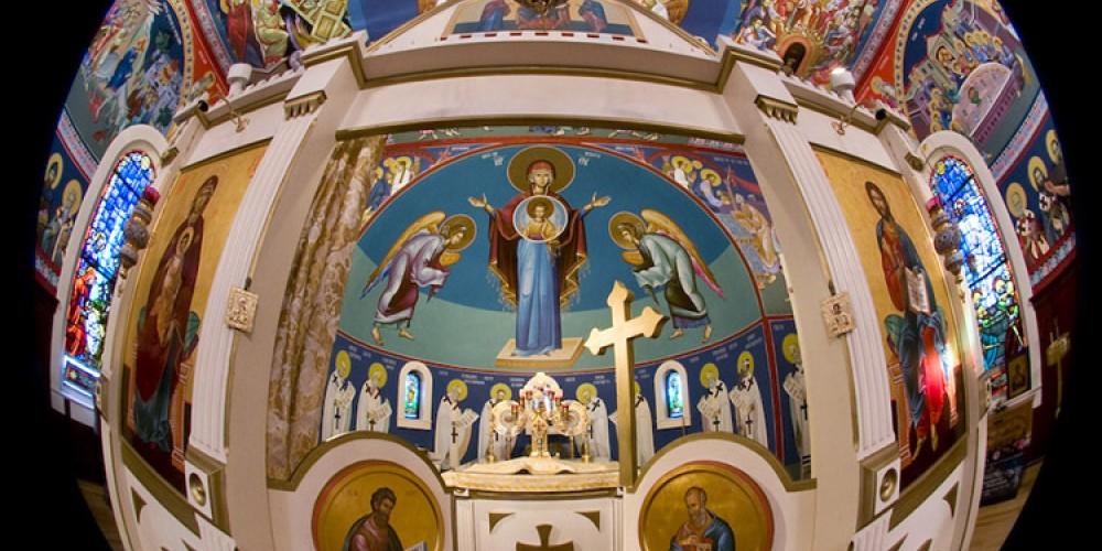 Altar of St. Sava Church, Jackson – Larry Angier