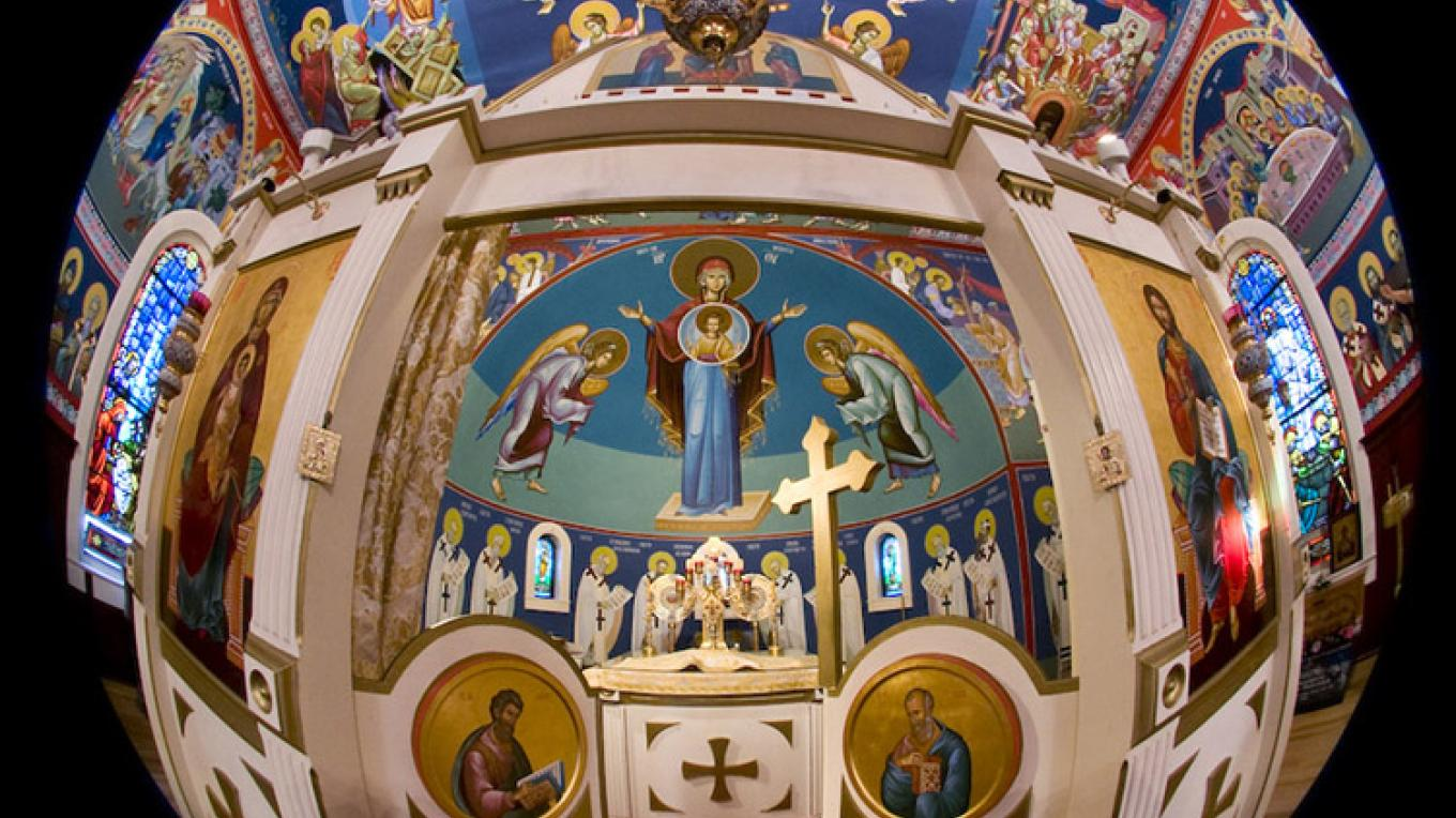 Altar of St. Sava Church, Jackson – Larry Angier