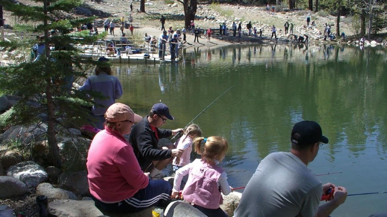 Kids Free Fishing Day at Marilyn's Pond-Galena Creek Regional Park – Bob Harmon, Washoe County