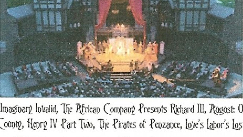 F.O.A.L. Shakespeare Festival Ashland Oregon