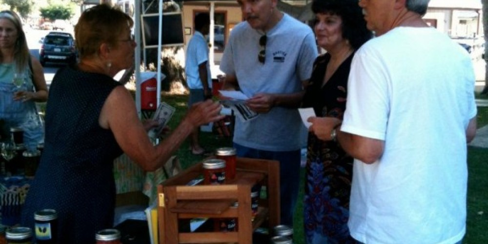 Meeting local vendors is part of the fun at the Plymouth Farmers Market. – Amador County Farmers Market Association