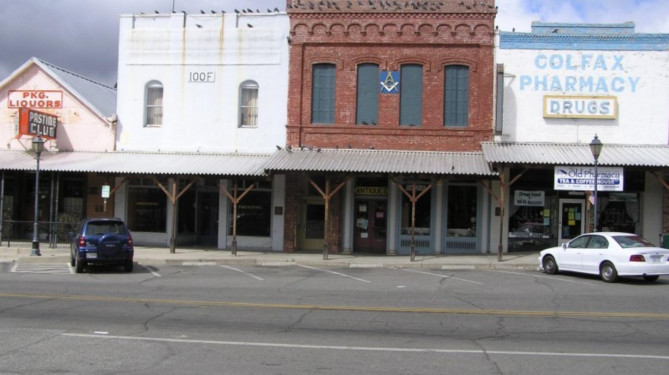 Downtown Colfax – Daivd Wiltsee