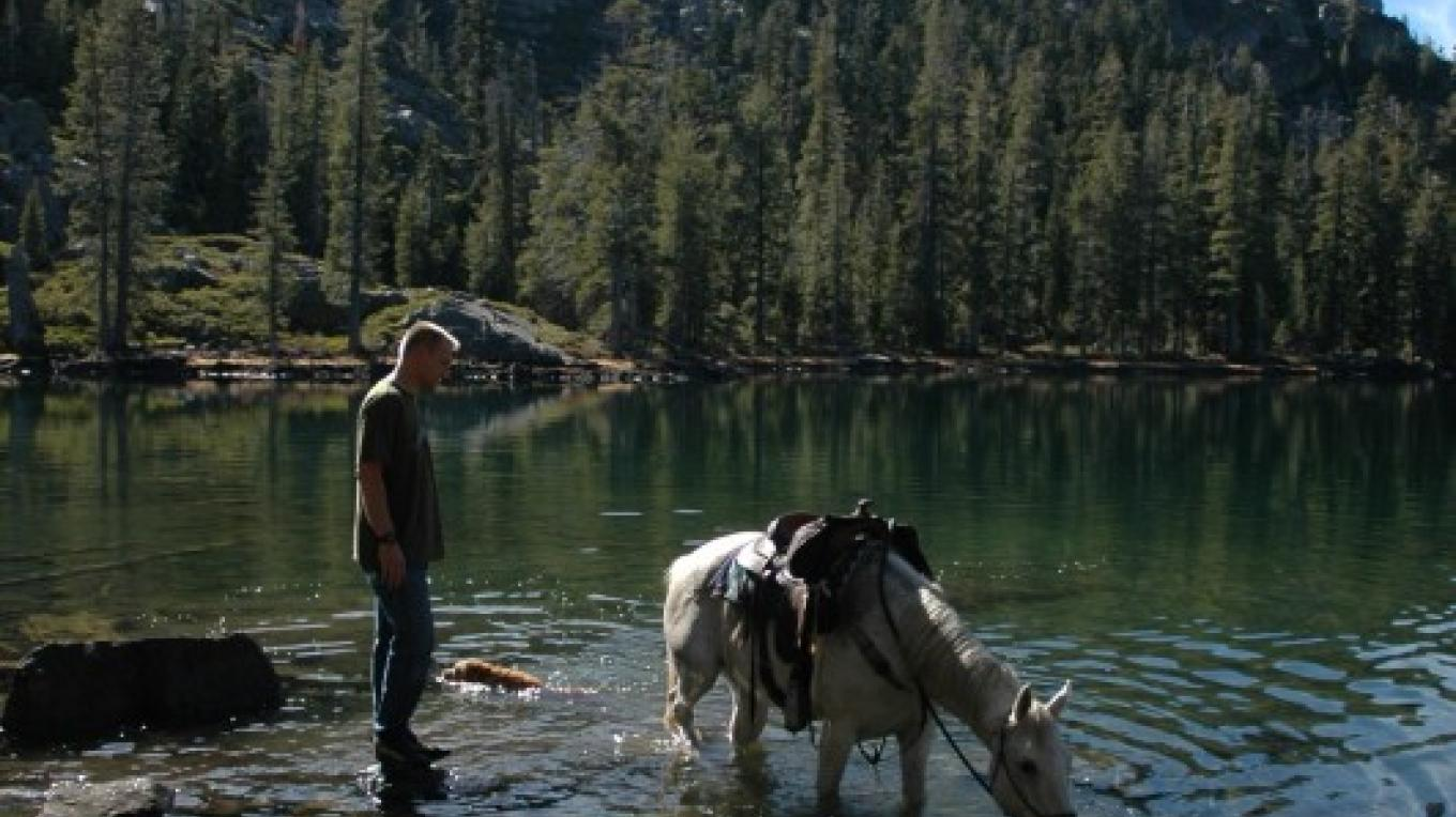 Volcano Lake after a horse ride – Mary Davey