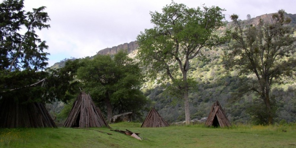 Indian village at the Gorge. – Tracy Rowland