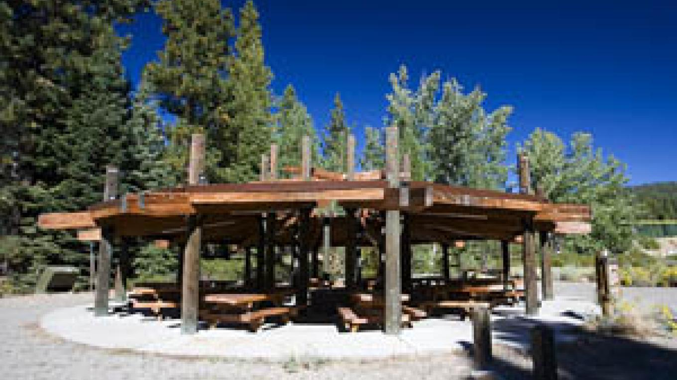 The Ramada picnic area provides seating for up to 100. – Mark Hammon