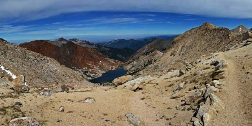 Franklin Lake from Franklin Pass – NPS/Rick Cain