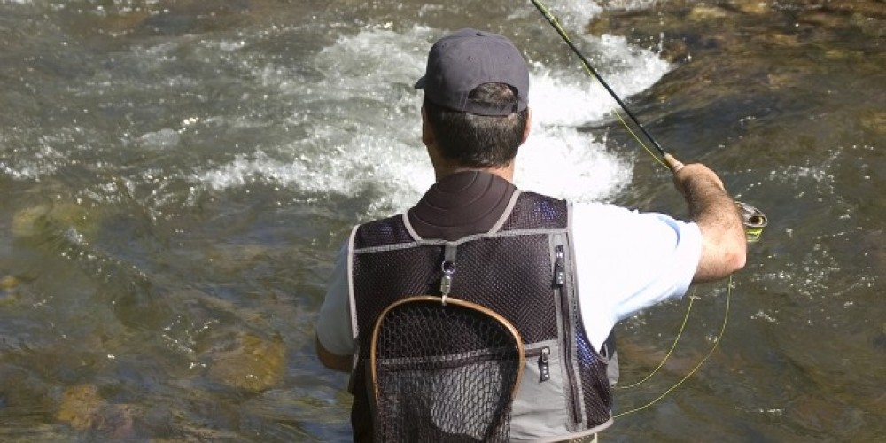 Upper Bishop Creek offers challenging, and fun small-stream fishing.