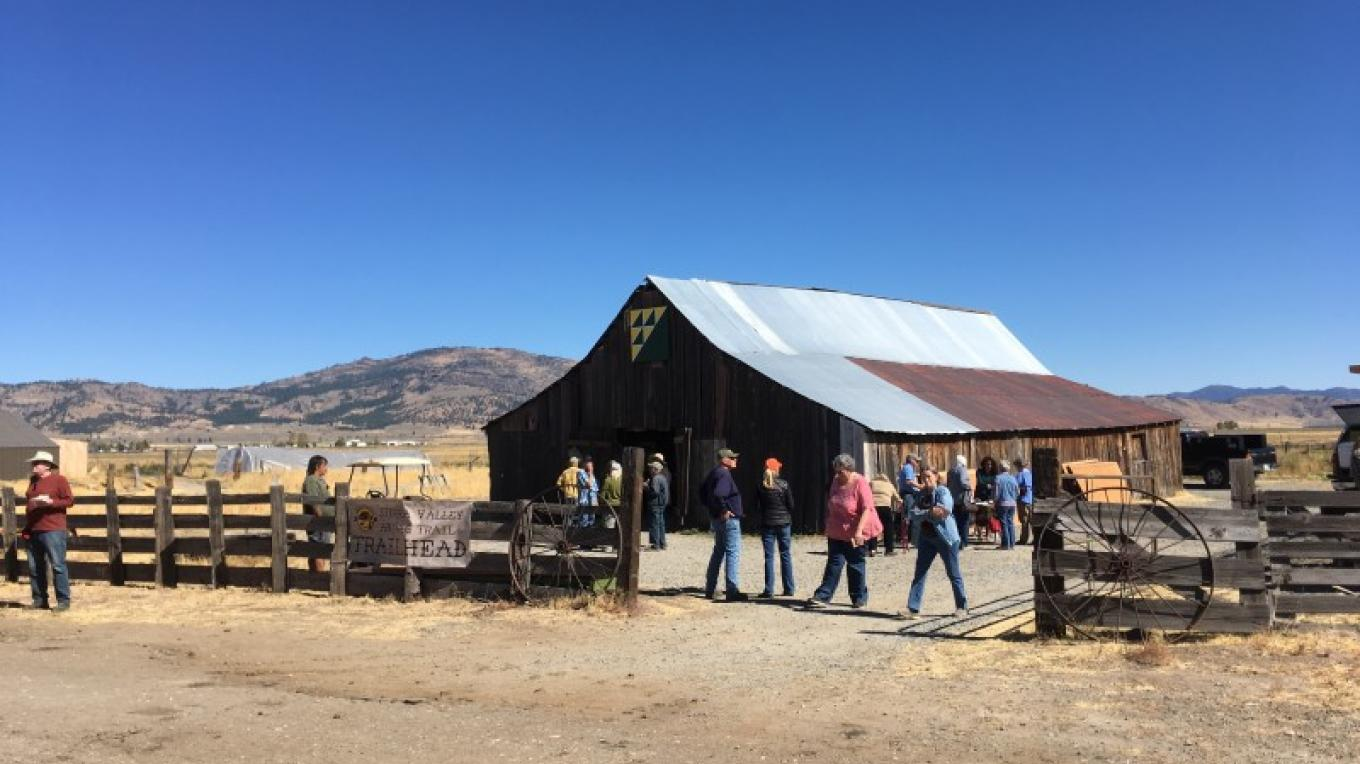 The Trailhead at Sierra Valley Farms in Beckwourth. During the summer, farmer Gary Romano hosts Dinners in the Barn, prepared by talented local chefs .