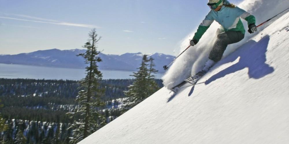 Fresh snow for skiers at Lake Tahoe's Homewood Mountain Resort – Rachael Woods