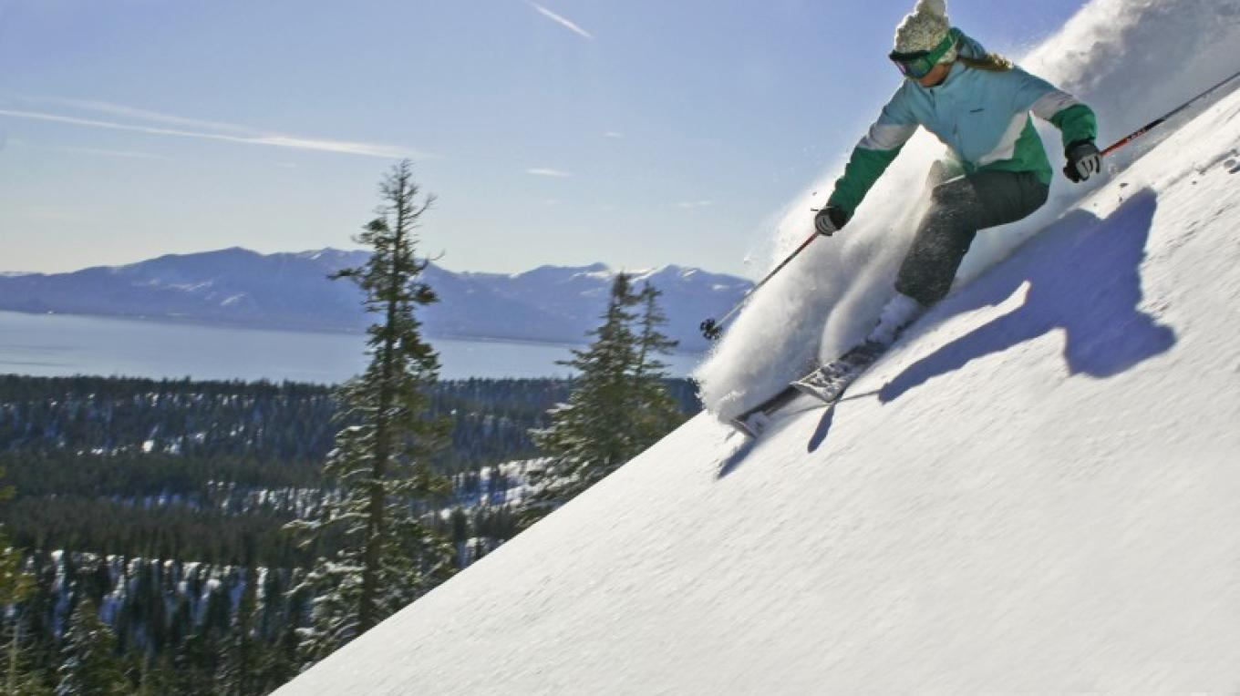 Fresh snow for skiers at Lake Tahoe's Homewood Mountain Resort – Rachael Woods