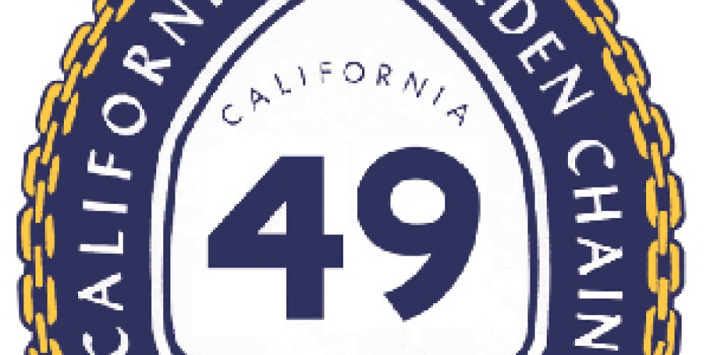 Logo for Highway 49 - The Golden Chain Highway – California's Golden Chain organization