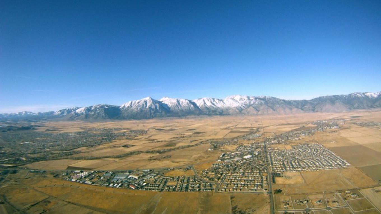Looking west towards the Sierras