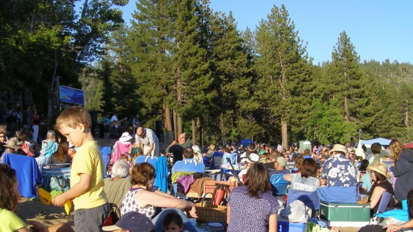 Record crowds attending Music on the Beach 2012!