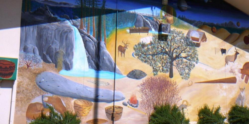 Mural by Donny Davis – Susan Leeper