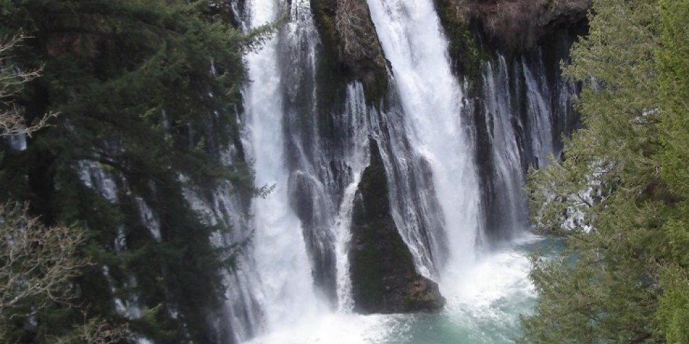 Burney Falls from near the parking area. – Ben Miles